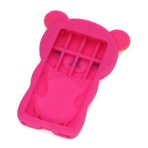 Bear silikónový obal na iPod Nano 7 - rose - 2