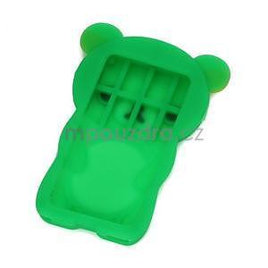 Bear silikónový obal pre iPod Nano 7 - zelený - 2