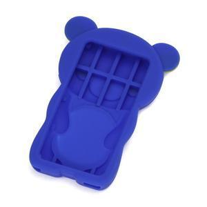 Bear silikónový obal na iPod Nano 7 - modrý - 2