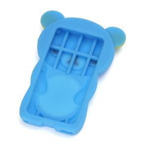 Bear silikónový obal na iPod Nano 7 - smetlomodrý - 2