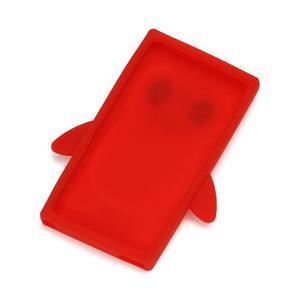 Penguin silikónový obal pre iPod Nano 7 - červený - 2