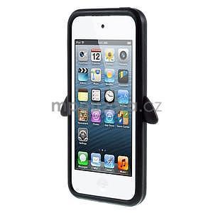 Penguin silikónový obal na iPod Touch 6 / iPod Touch 5 - čierny - 2