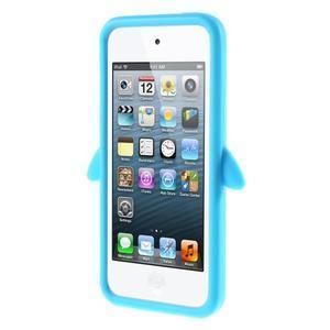 Penguin silikónový obal na iPod Touch 6 / iPod Touch 5 - svetlomodrý - 2