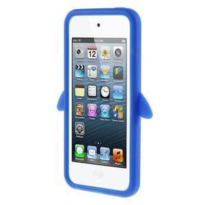 Penguin silikónový obal pre iPod Touch 6 / iPod Touch 5 - tmavomodrý - 2