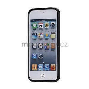 Matte gélový obal na iPod Touch 5 a iPod Touch - čierny - 2