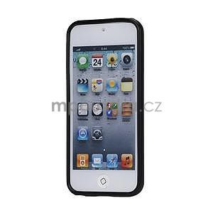 Matte gélový obal pre iPod Touch 5 a iPod Touch - čierny - 2