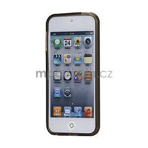 Matte gélový obal na iPod Touch 5 a iPod Touch - šedý - 2