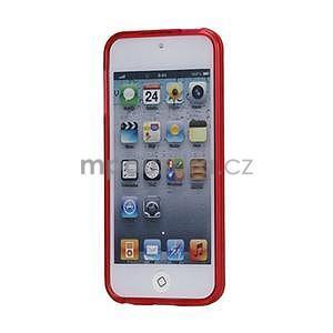 Matte gélový obal na iPod Touch 5 a iPod Touch -  červený - 2