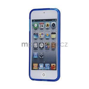 Matte gélový obal na iPod Touch 5 a iPod Touch - tmavomodrý - 2