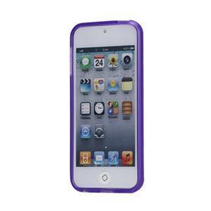 Matte gélový obal pre iPod Touch 5 a iPod Touch -  fialový - 2