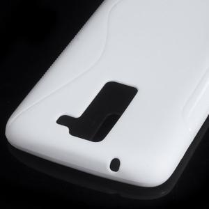 S-line gelový obal na LG K8 - bílý - 2