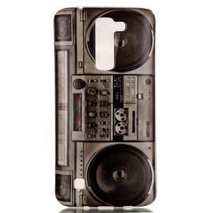 Emotive gelový obal na mobil LG K8 - retro magneťák - 2