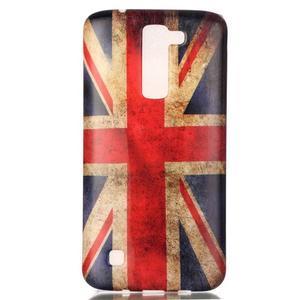 Emotive gélový obal pre mobil LG K8 - UK vlajka - 2