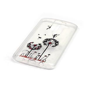 Průhledný gelový obal na telefon LG K8 - pampelišky - 2