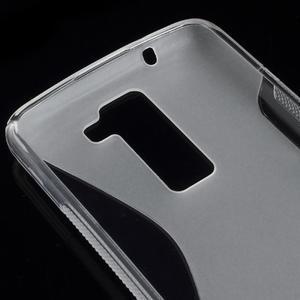 S-line gélový obal pre LG K8 - transparentný - 2