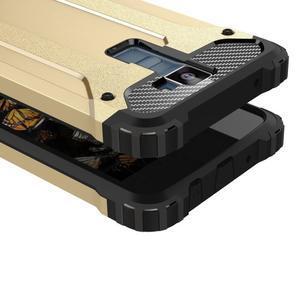 Armory odolný obal pre mobil LG K8 - zlatý - 2