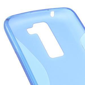 S-line gelový obal na LG K8 - modrý - 2