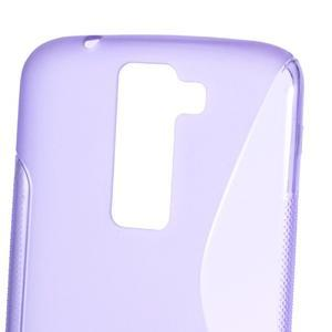 S-line gélový obal pre LG K8 - fialový - 2