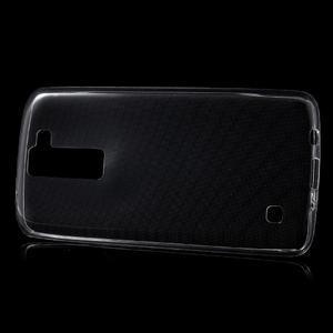 Ultratenký gélový obal pre mobil LG K8 - transparentný - 2