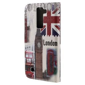 Emotive PU kožené puzdro pre LG K8 - United Kingdom - 2