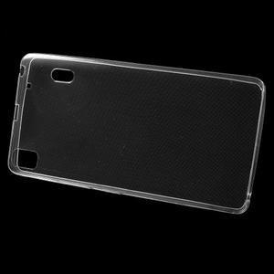 Ultra tenký slim obal na Lenovo A7000 / K3 Note - transparentný - 2