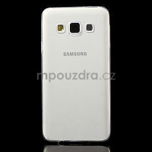 Slim obal pre Samsung Galaxy A3 - transparentný - 2