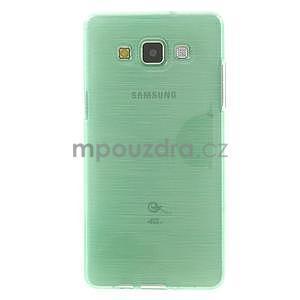 Brúsený gélový obal Samsung Galaxy A5 - cyan - 2