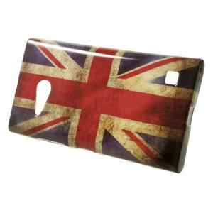 Gélové puzdro na Nokia Lumia 730 a Lumia 735 - UK vlajka - 2