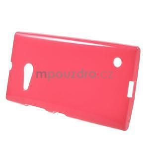 Gélový obal na Nokia Lumia 730 a Lumia 735 - rose - 2