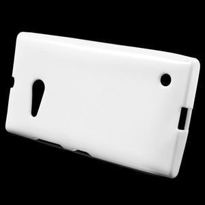 Gélový obal pre Nokia Lumia 730 a Lumia 735 - biely - 2