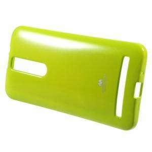 Gélový obal na Asus Zenfone 2 ZE551ML - zelený - 2