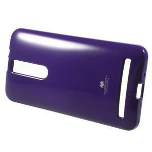Gélový obal na Asus Zenfone 2 ZE551ML -  fialový - 2
