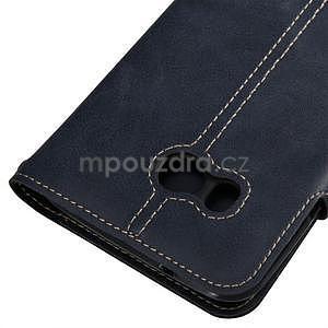 RetroStyle PU kožené puzdro na HTC U11 - modré - 2