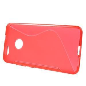 S-line gelový obal na mobil Huawei Nova - červený - 2