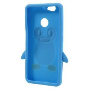 Tučňák silikonový obal na mobil Huawei Nova - modrý - 2