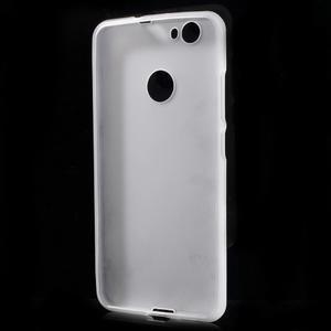 Matný gelový obal na Huawei Nova - bílý - 2