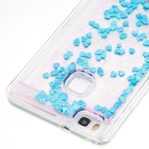 Magic presýpací gélový obal na Huawei P9 Lite - modrý - 2