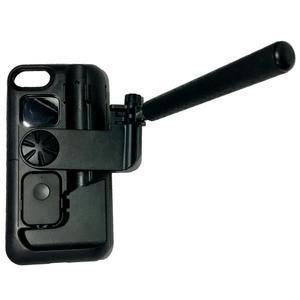 Selfie 2v1 obal pre mobil pro iPhone 7 a iPhone 8 s funkcí bluetooth - čierne - 2