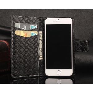 GintMat peňaženkové puzdro pre iPhone 7 a iPhone 8 - čierne - 2