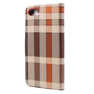 Fashion PU kožené puzdro pre iPhone 8 a iPhone 7 - rose - 2