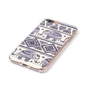 Imope gélový obal pre mobil iPhone 8 Plus a iPhone 7 Plus - sloni - 2