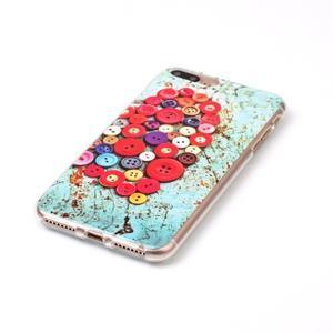 Imope gélový obal pre mobil iPhone 8 Plus a iPhone 7 Plus - knoflíky - 2