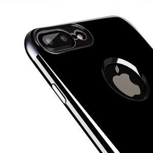 BlackDiamond gélový obal so sivým lemom na mobil iPhone 7 Plus a iPhone 8 Plus - 2