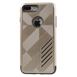 Armory odolný obal pre mobil iPhone 8 Plus a iPhone 7 Plus - zlaté - 2