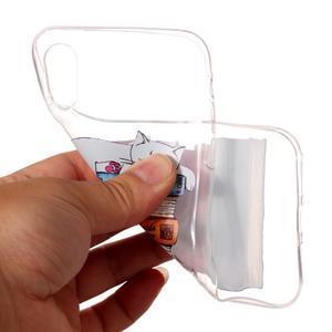 Bossi gélový obal na mobil iPhone X - čítanie - 2