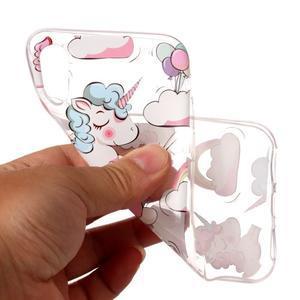 Bossi gélový obal na mobil iPhone X - sladkí jednorožci - 2