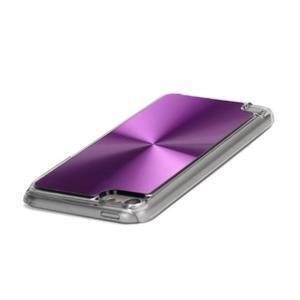 Zen metalický obal na iPod Touch 5 - fialový - 2