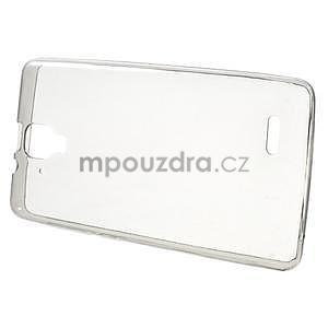 Gélový slim obal pre Lenovo A536 - šedý - 2