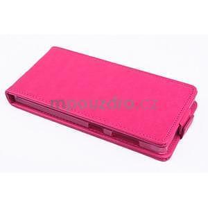 Flipové puzdro pre mobil Lenovo Vibe X2 - rose - 2