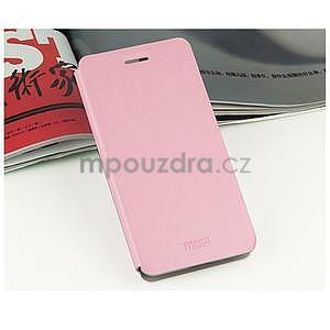 Kožený obal na Lenovo Vibe X2 - růžový - 2